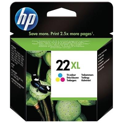 HP22XL - Tinteiro HP Cores