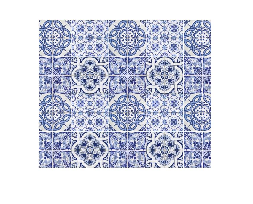 Cartolina Azulejo 300g