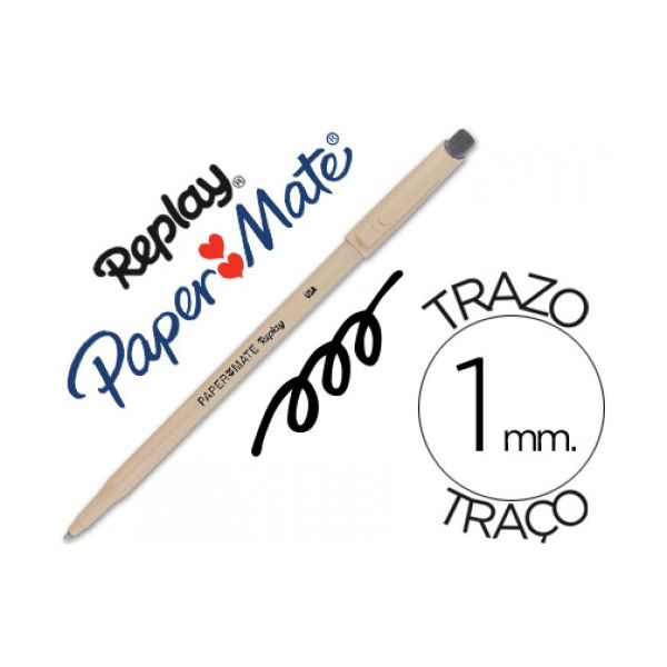 Papermate Replay Preto