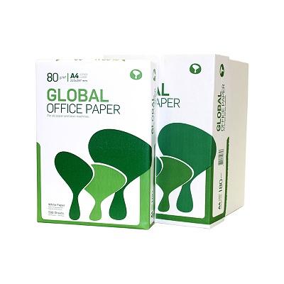Papel A4 80g Global Paper (5x500fls)