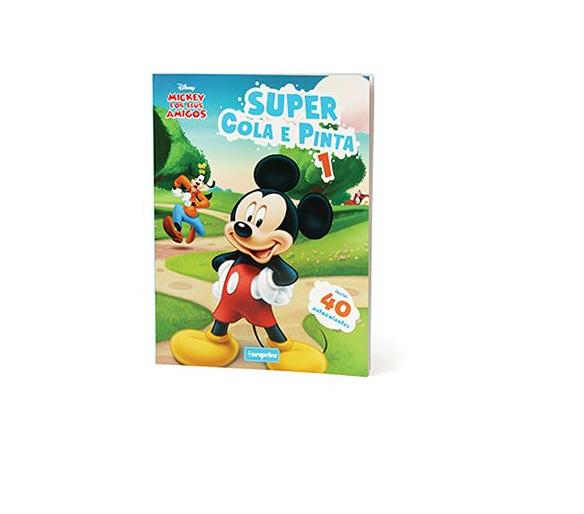 Super Cola e Pinta - Clássicos Disney 1