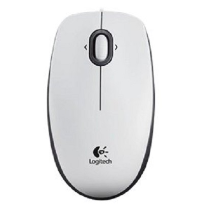 Rato Logitech B100 Optico Branco