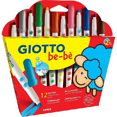 Marcador Escolar Giotto Bebe 12 Cores