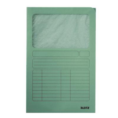 Pasta Documentos Cartolina A4 Verde 50 Leitz 3950