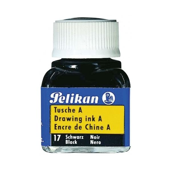Tinta da China Pelikan 10ml Preto