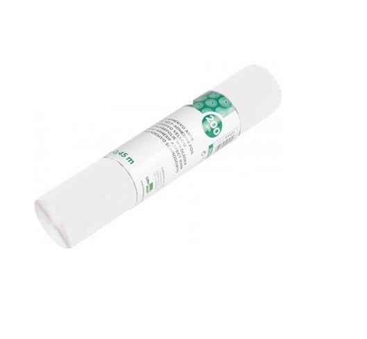 Papel Autocolante 0,45mx2m Liso Brilhante Branco