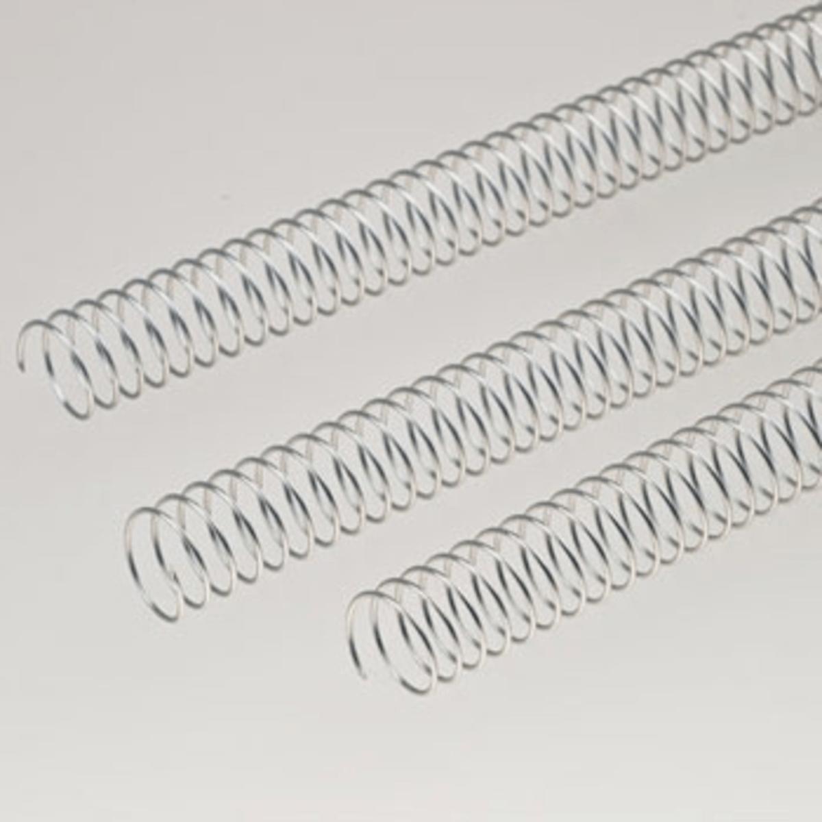 Espirais de Arame 5:1 10mm (100un) Prata