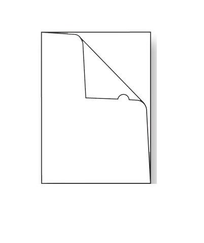 Bolsa Dossier A4 em L (1un)