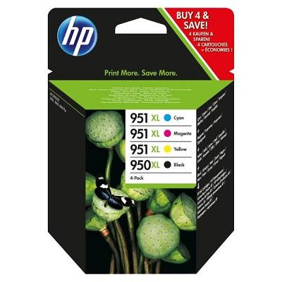 HP950XL / 951XL Pack 4 Cores