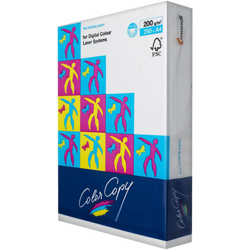Papel A4 200g Foto Glossy (250fls) Color Copy Mondi
