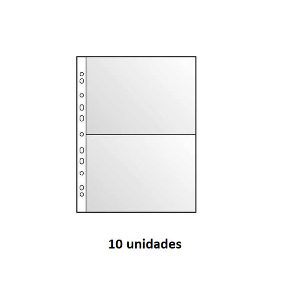 Bolsa p/ Postais 2 Divisoes (pack 10) A4