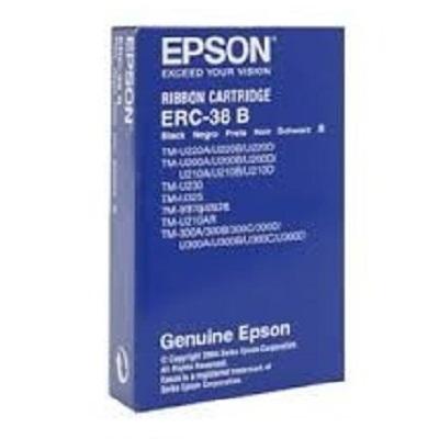 Fita EPSON ERC-38B Preto