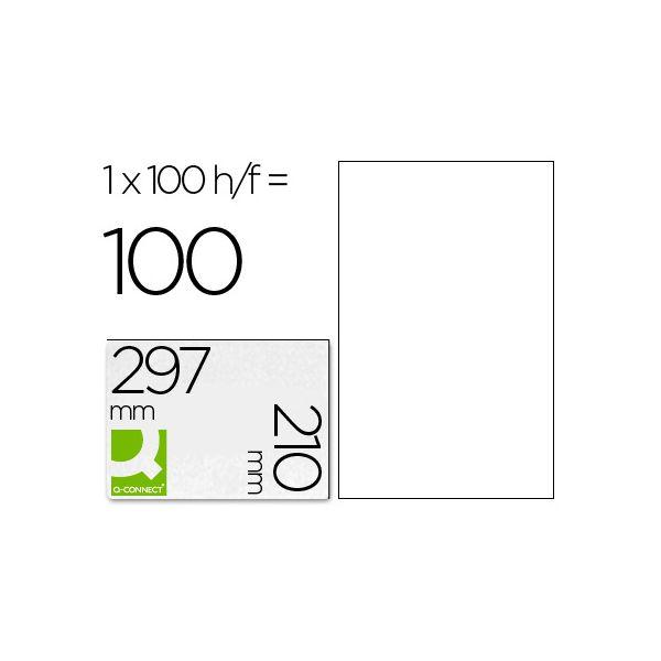 A4 210x297mm (1) Branco (100fls)