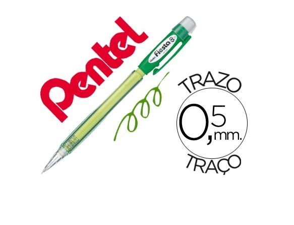 Lapiseira 0.5mm PENTEL Fiesta AX105 Verde
