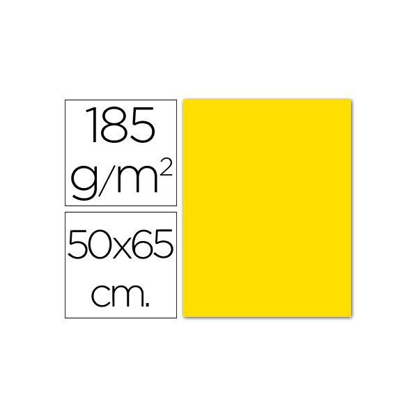 Cartolina Amarelo Escuro 185g