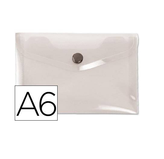 Bolsa Porta Documentos A6 c/ Mola Transparente