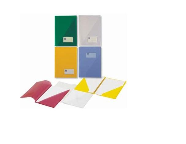 Bolsa Dossier A4 c/ Porta Etiquetas Cristal Roma