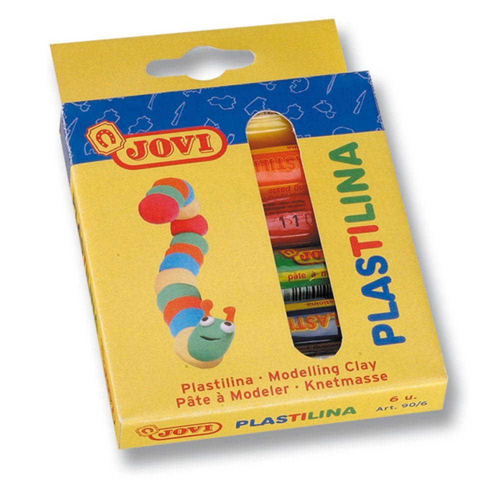Plasticina Jovi Barra 6 Cores x 15g