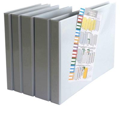 P. Arq. PVC Branco 35mm/4aneis