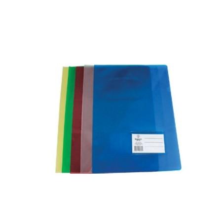 Bolsa Dossier A4 c/ Porta Etiquetas Azul Roma