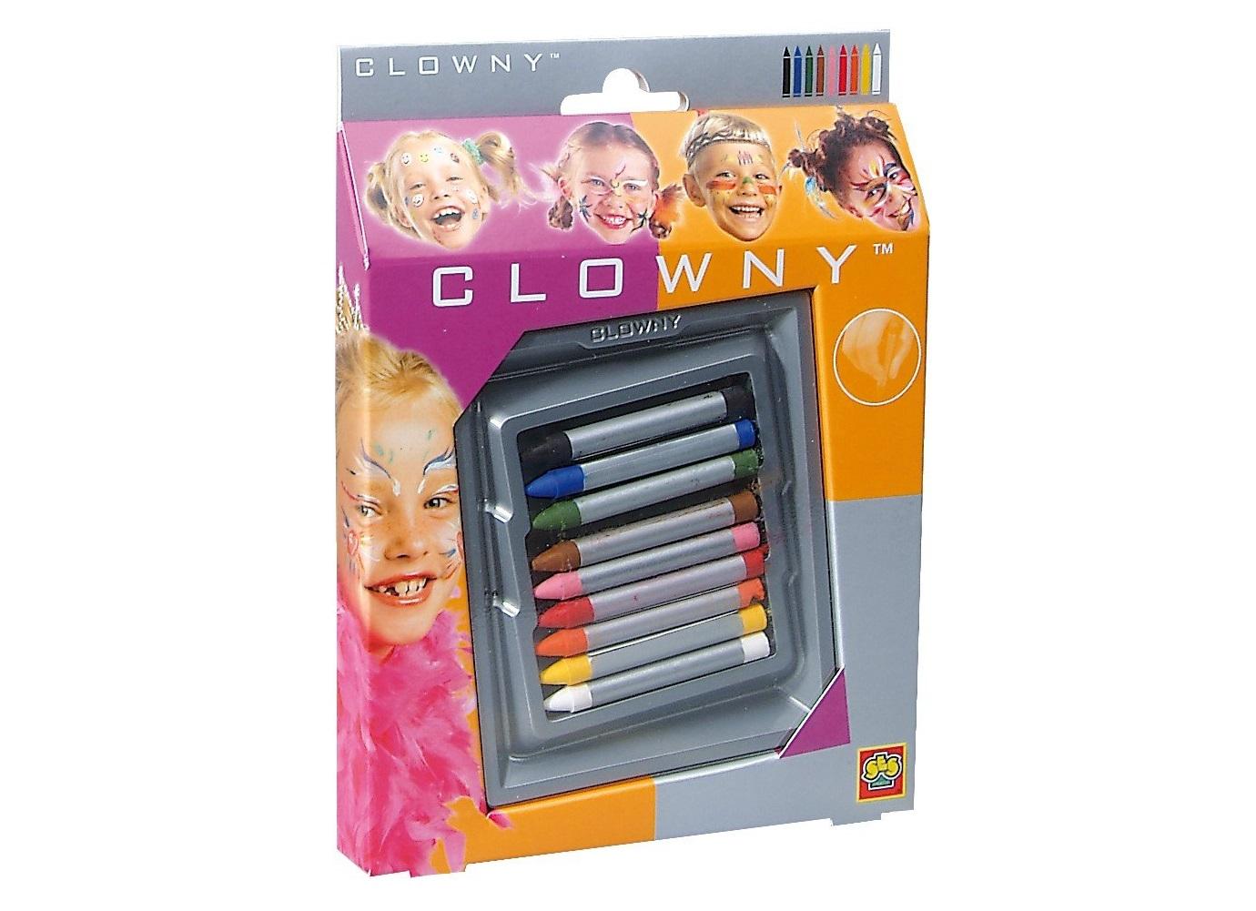 Lapis Pintura Facial Clowny (cx. 9) 9009
