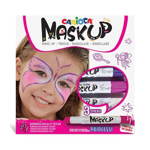 Pintura Facial Carioca Mask Up c/3 Cores
