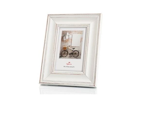 Moldura Hofmann 396 10x15cm Madeira Branco