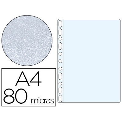 Bolsa Catalogo A4 80 microns (100un) Martelada