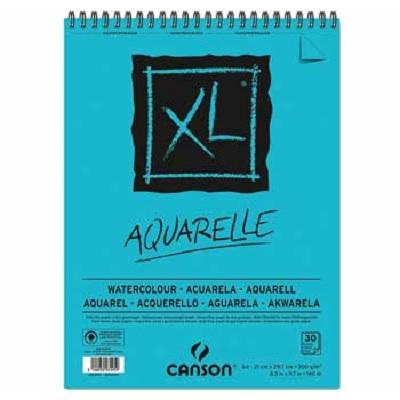 Bloco Desenho Espiral A4 300g 30fls - Canson XL Aquarelle