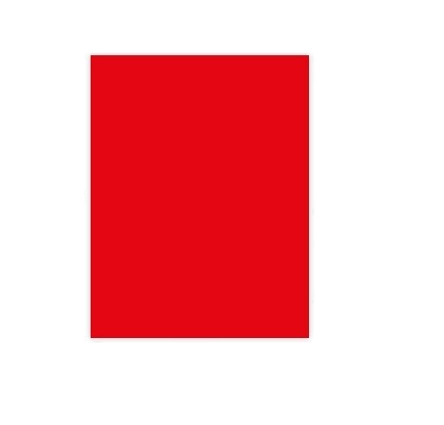 Cartolina A4 180g Vermelho (100fls)