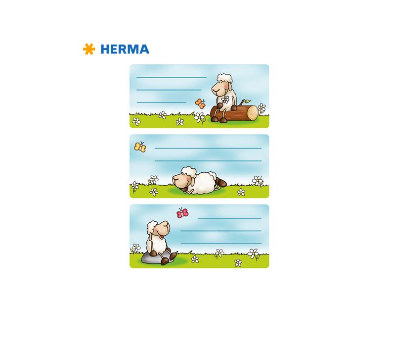 Etiquetas Escolares Ovelhas