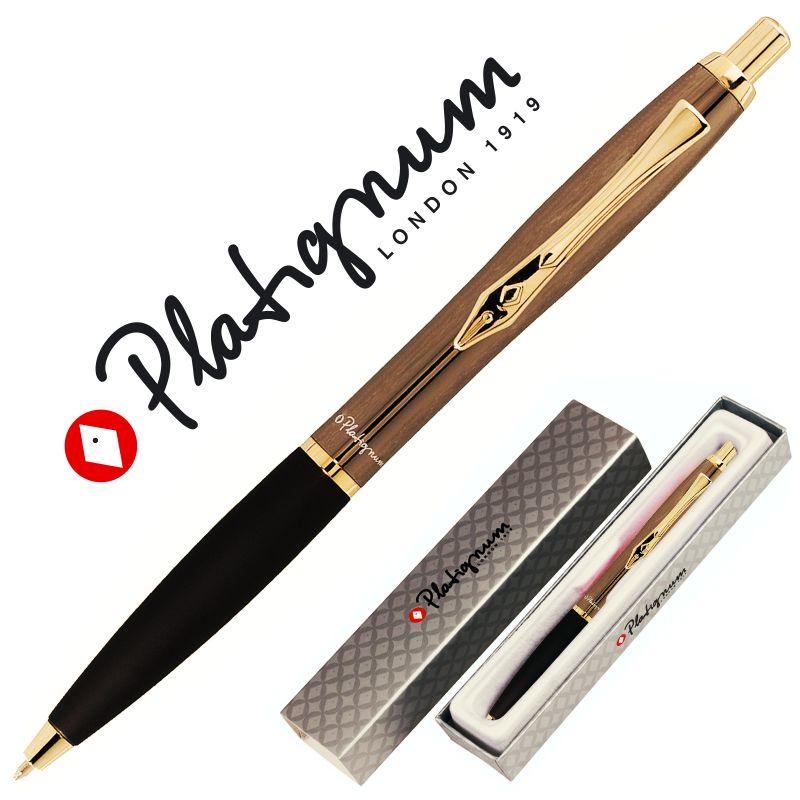 Platignum N.º9 Gun Metal Gold Silver