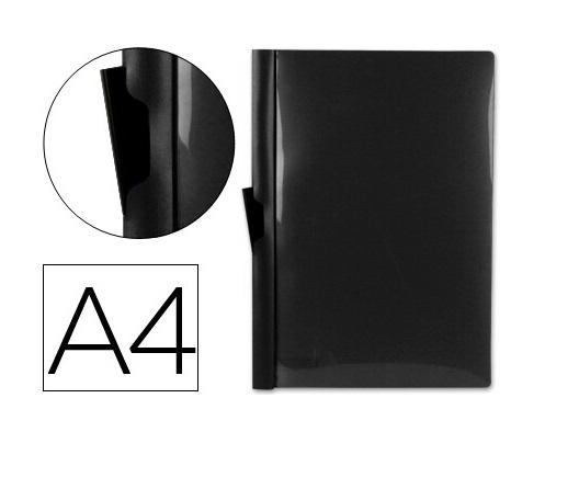 Bolsa Dossier A4 c/ Clip Lateral 60fls Preto