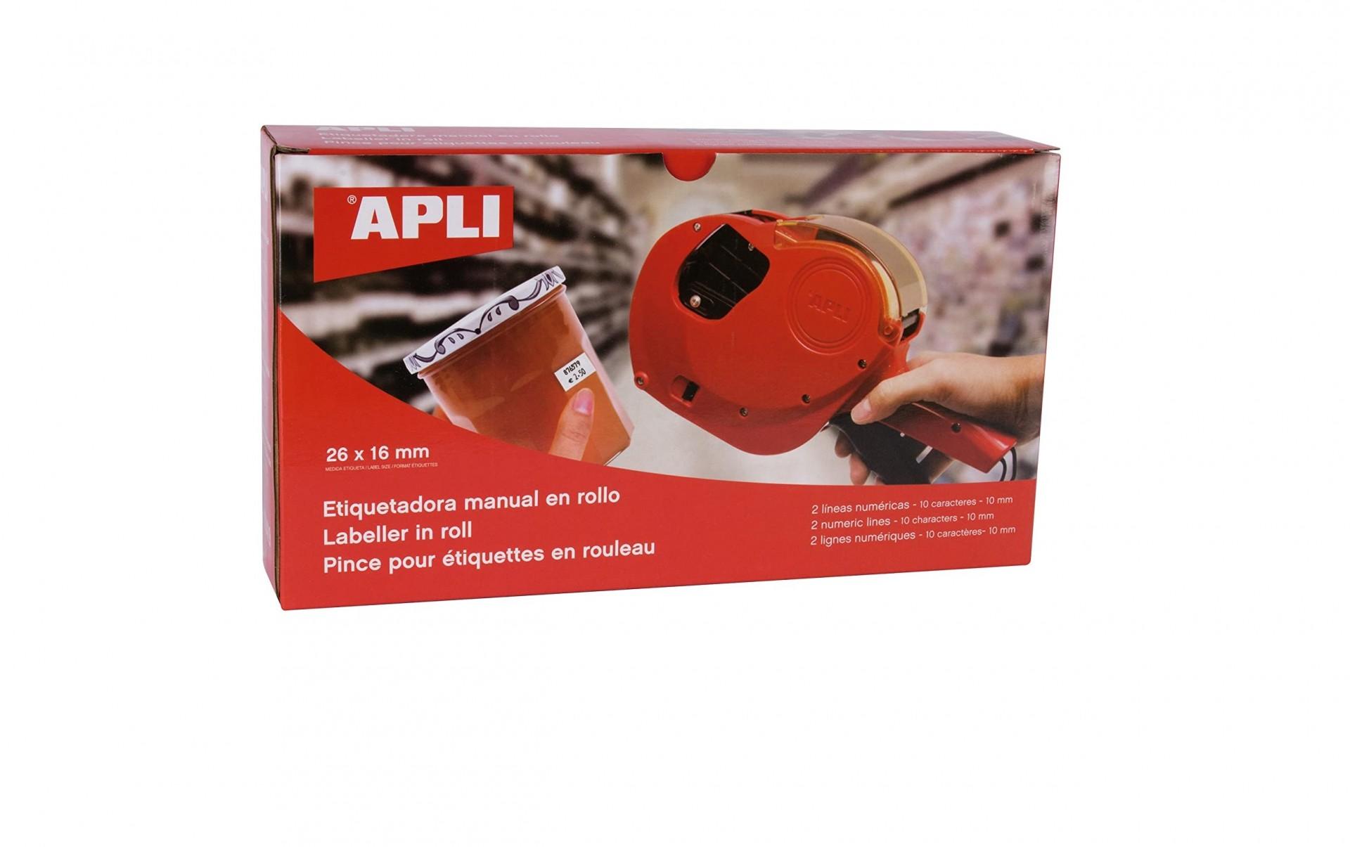 Maquina Etiquetar APLI 2 Linhas 10 Digitos (Etiqueta 26x16) 101419