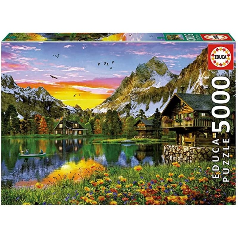5000 Lago alpino