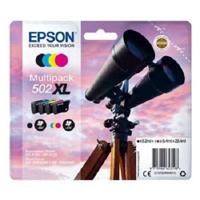 Tinteiro EPSON 502XL Pack 4 Cores