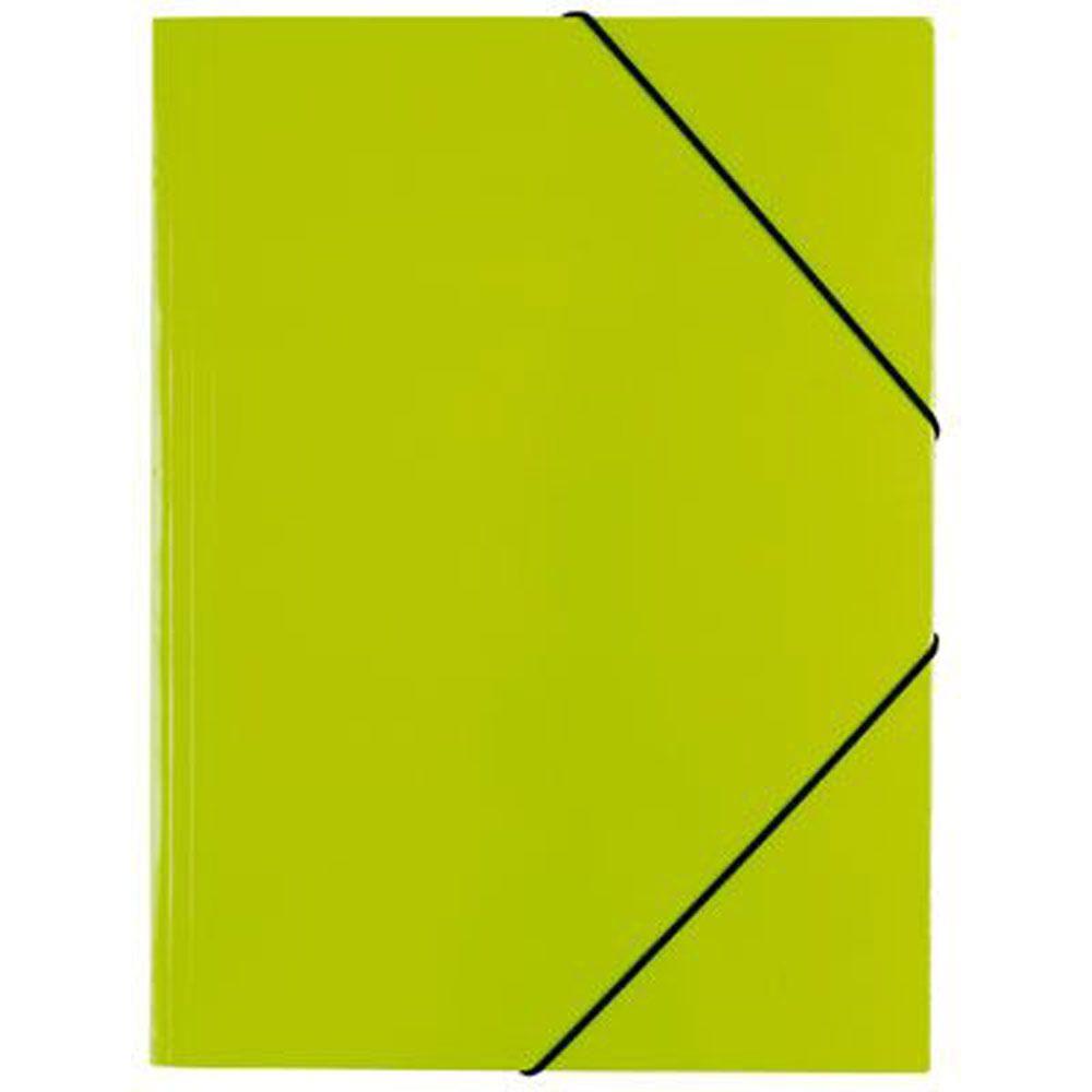 Pasta c/ Elasticos A3 Cartolina Verde
