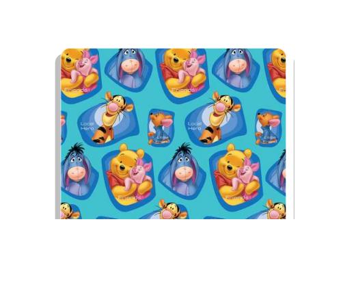 Folha Papel fantasia 70x100 Winnie The Pooh