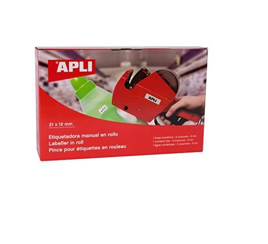 Maquina Etiquetar APLI 1 Linha 8 Digitos (Etiqueta 21x12) 101418