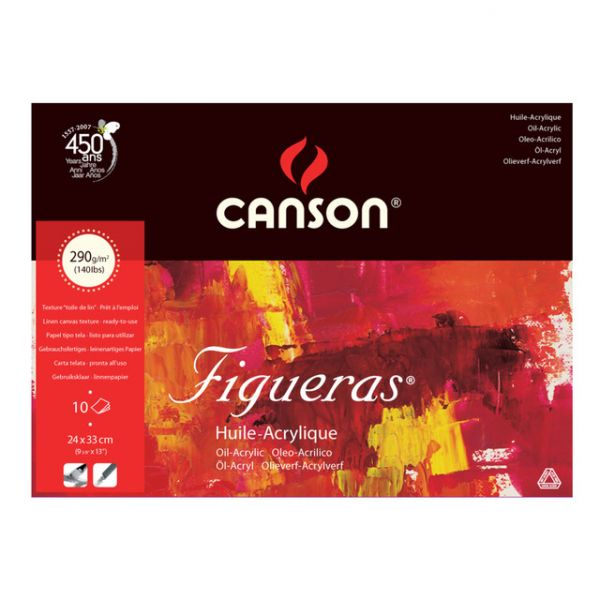 Bloco Figueras Canson 190x250 290g