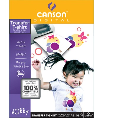 Papel A4 Transfer Canson (10fls)