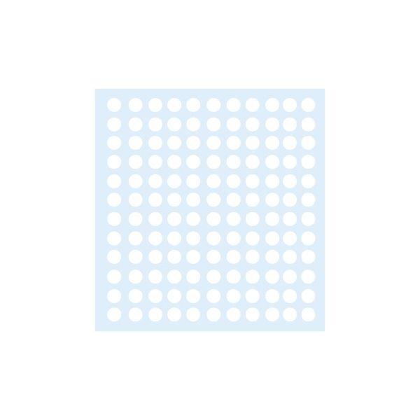 Etiquetas Circulares 10mm Branco