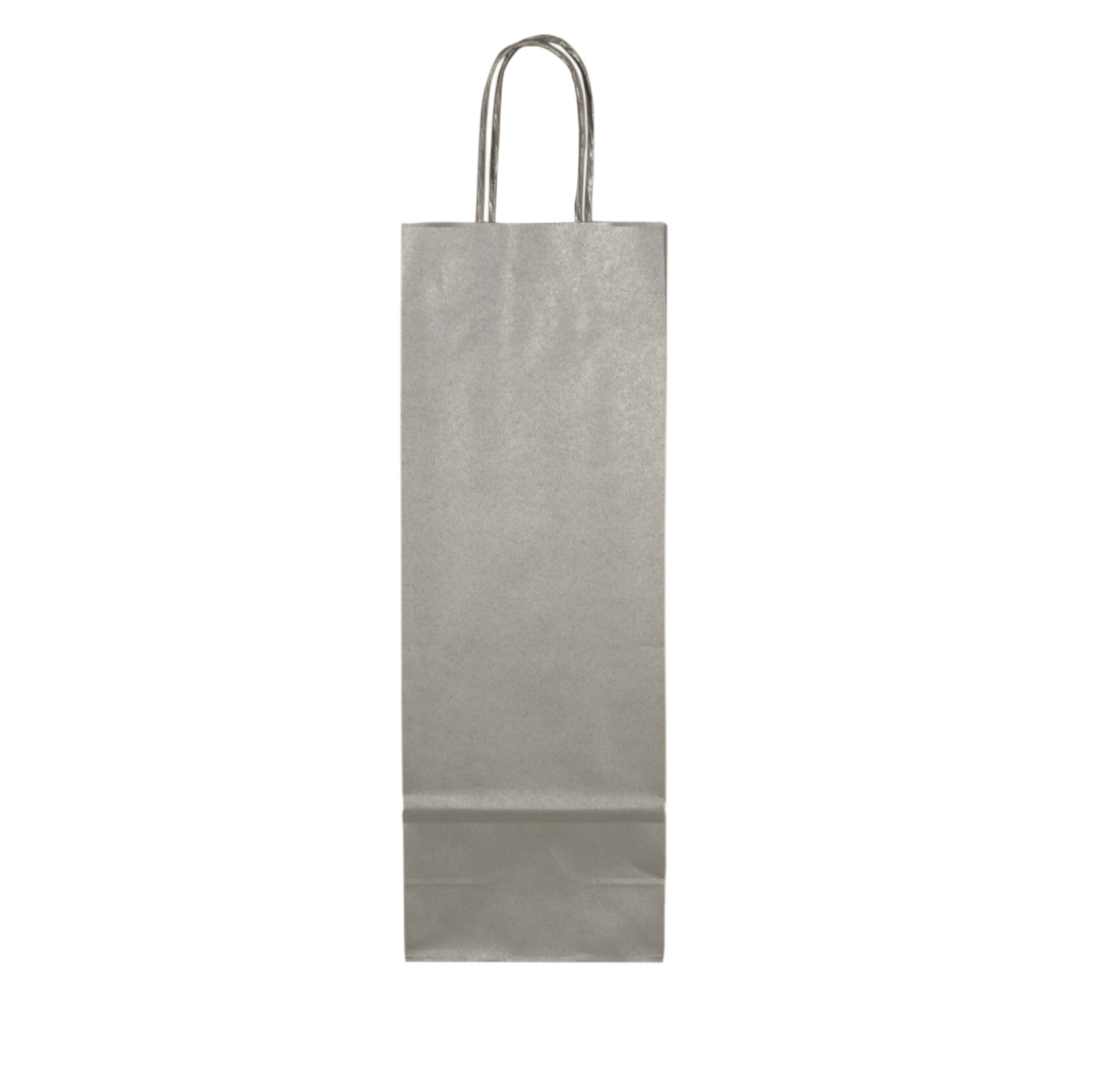 Saco Papel 11x38 Fashion Stripes Branco/Prata