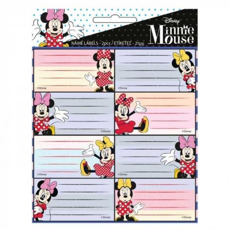 Etiquetas Escolares Minnie