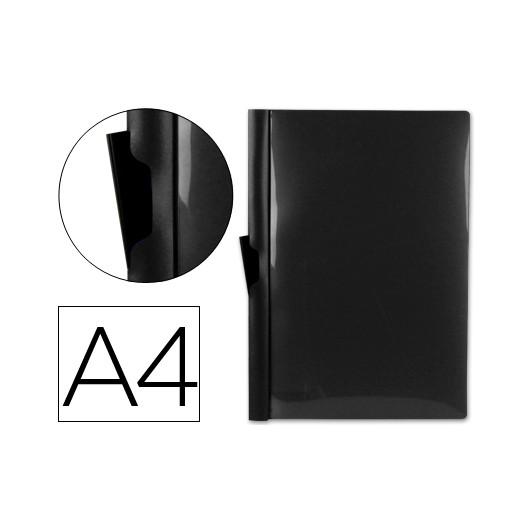 Bolsa Dossier A4 c/ Clip Lateral 30fls Preto