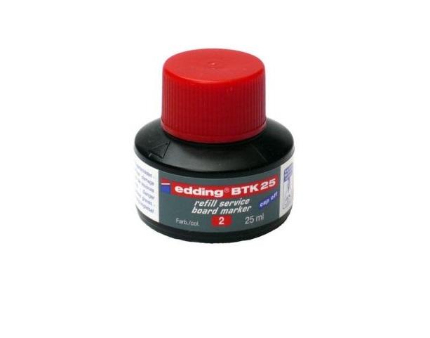 Tinta p/ Marcadores Edding Vermelho