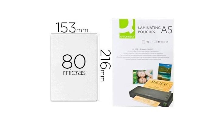 Bolsas Plastificação A5 (cx 100) Autoadesivas