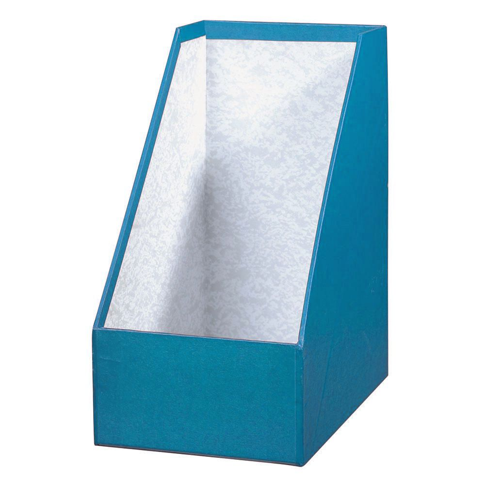 Porta Revistas Cartao Azul