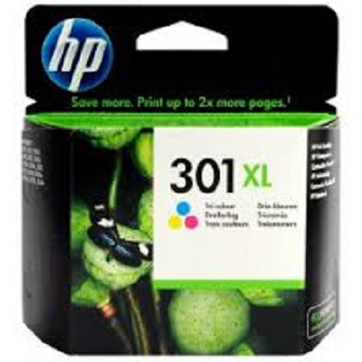 HP301XL - Tinteiro HP Cores