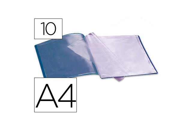 Capa Catalogo 10 Bolsas Azul